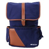 PULCHER Backpack [B-02] - Navy - Backpack Pria